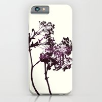 iPhone & iPod Case featuring Dancing Trees Violet by Garima Dhawan