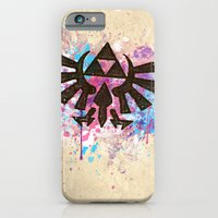 Splash Triforce Emblem iPhone 6 Slim Case