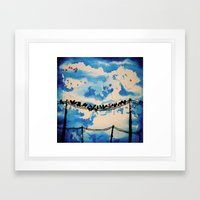 belonging Framed Art Print