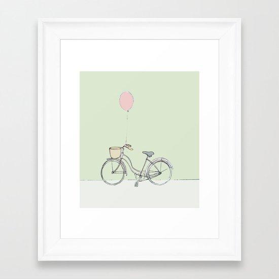 Bike. Framed Art Print