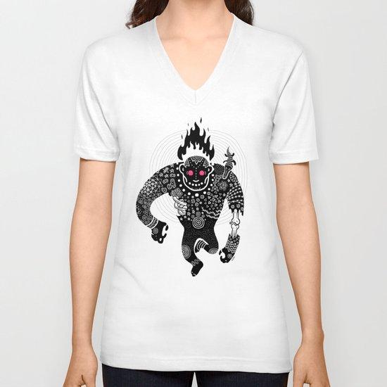 RUN V-neck T-shirt