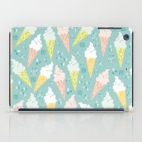 Ice Cream Cones iPad Case