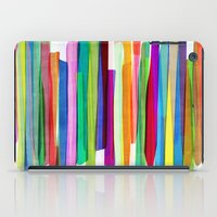 Colorful Stripes 1 iPad Case