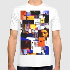 ECCE HOMO Mens Fitted Tee White SMALL