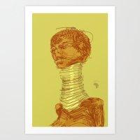 Ringneck Art Print