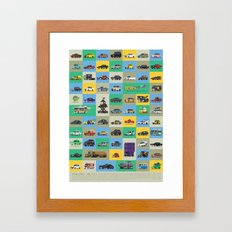 Star Cars Vol 2 Framed Art Print