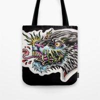 Panther Tongue Tote Bag