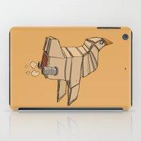 Space Chicken iPad Case