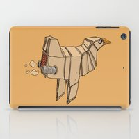 Space Chicken iPad Case