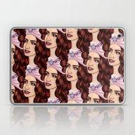 Tessellated Lady G Laptop & iPad Skin