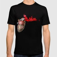 Broken Heart - Fig. 4 Mens Fitted Tee Black SMALL
