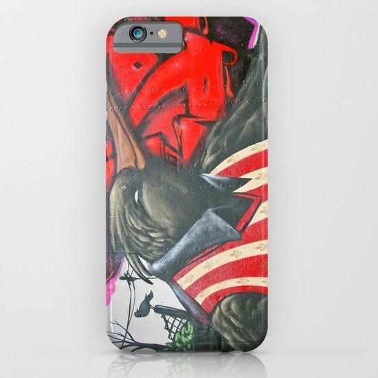 Raven graffiti iPhone & iPod Case
