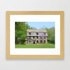 Mill Creek Manor Framed Art Print