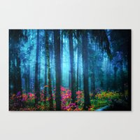Magicwood #Night Canvas Print