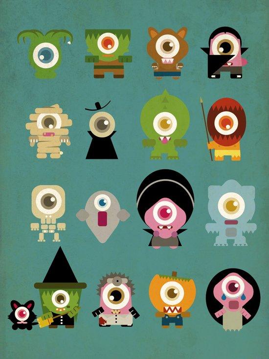 monsters nightmare Art Print