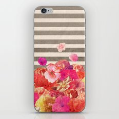 Vintage Floraline iPhone & iPod Skin