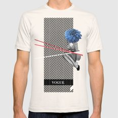 Vogue Mens Fitted Tee Natural SMALL