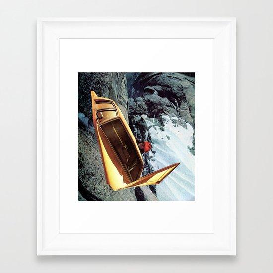 V e c t o r  Framed Art Print
