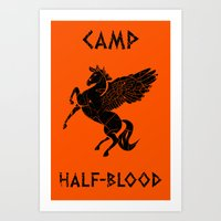 Camp Half-Blood Art Print