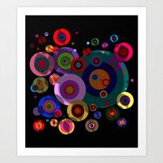 Abstract #320 Circles & … Art Print