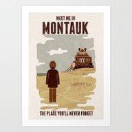 Montauk Art Print