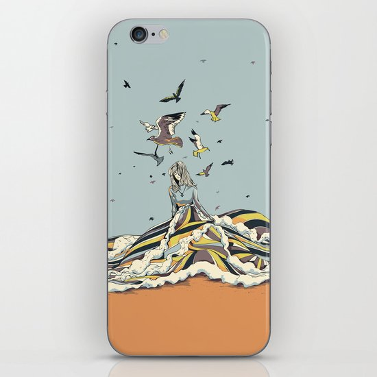 WALK ON THE OCEAN iPhone & iPod Skin