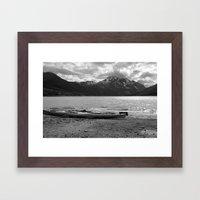 Eklutna Lake I Framed Art Print