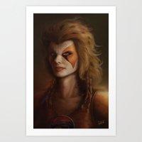 ThunderCats Collection - Cheetara Art Print