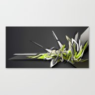 Swinging DAIM Canvas Print