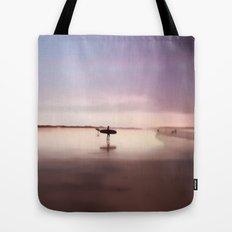 Pink Surf Tote Bag