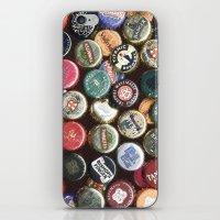 CAPS BEERS MANIPULATED iPhone & iPod Skin