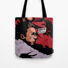 Hello I'm Bob/ fight club/ tyler durden Tote Bag