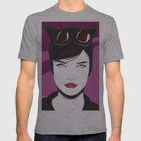 Nagel Style Cat Burglar Mens Fitted Tee Athletic Grey SMALL