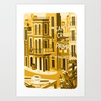 Santa Cruz De La Plama #… Art Print