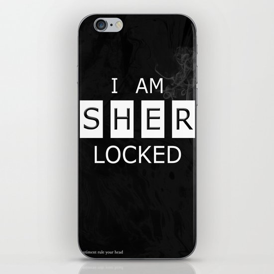 No. 1. I Am Sherlocked iPhone & iPod Skin