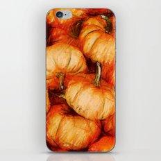 extreme orange iPhone & iPod Skin