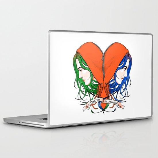 Clementine's Heart Laptop & iPad Skin