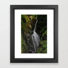Aira Force Waterfall Framed Art Print