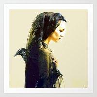 The Carrier Of Ravens Art Print