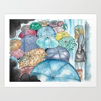 Under The Weather Art Print