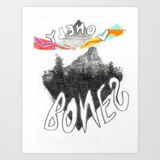 Lonely Bones Art Print