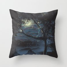 wishful thinking Throw Pillow