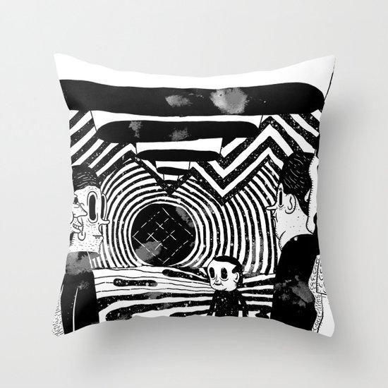 """""""Reflektor"""" by Steven Fiche Throw Pillow"""