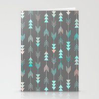 Aztec Arrows Stationery Cards