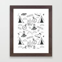 Wanderlust Framed Art Print