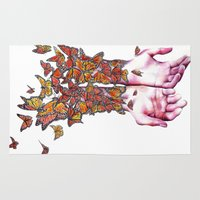 The Butterfly Project Rug