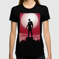 Daredevil - The Man Without Fear Womens Fitted Tee Black SMALL