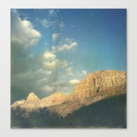 Soaking Up The Golden Ho… Canvas Print