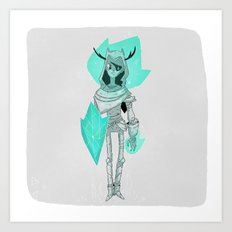 Shield. Art Print