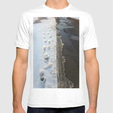 winter is gone? Mens Fitted Tee White SMALL